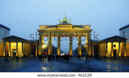Brandenburger Tor - stock photo