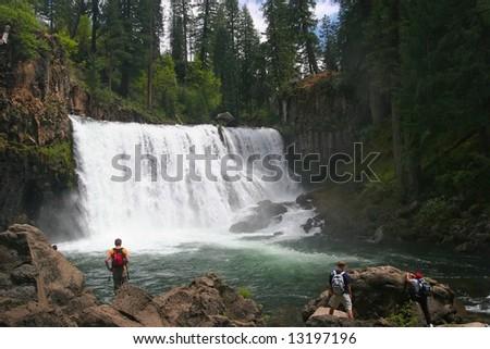 Brandy Creek Falls is a pretty little 24 ft. drop along Brandy Creek in the Whiskeytown National Recreation Area.