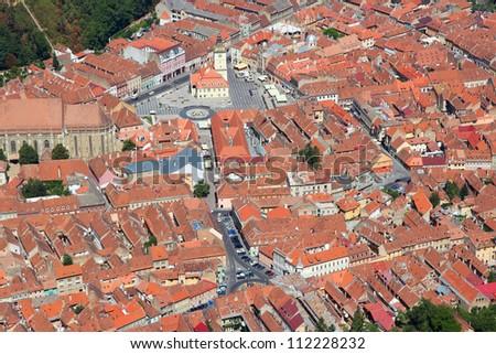 brasov  town in transylvania ...