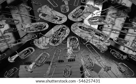 brass instruments  #546257431