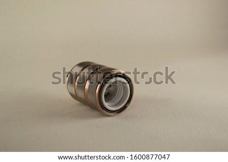 Brass lamp socket lamp holder