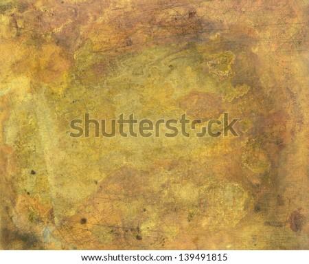 Brass Metal Texture Brass Plate Texture Old Metal