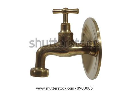 brass water tap