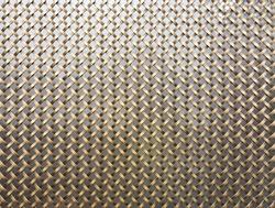Brass wire mesh net texture pattern