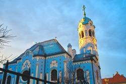 Bratislava Blue Church of St. Elizabeth of Hungary Slovakia