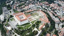 Bratislava Slovakia Castle Europe Oldtown