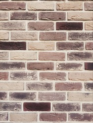 Brawn  brick . Abstract and vintage wall background from brick background Texture.