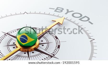 Brazil High Resolution Byod Concept