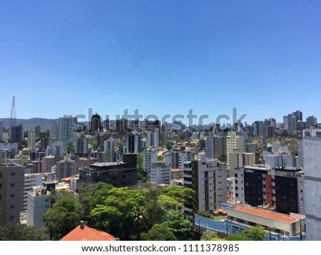 Brazilian city Belo Horizonte Minas Gerais #1111378985