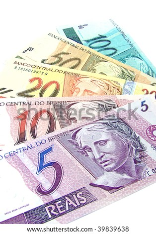 Brazilian Currency Stock Photo 39839638 : Shutterstock