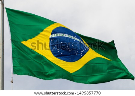 brazilian flag bandeira do brasil  pavilhão nacional