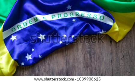 Brazilian Flag - Order and Progress