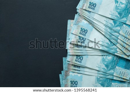 Brazilian money, denominations of 100 reais
