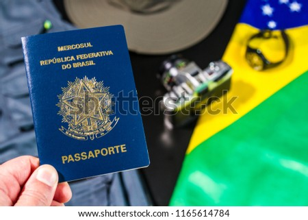 Brazilian Passport Brazilian Tourism Brazilian Tourist Adventure Photographer