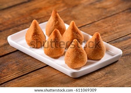 Brazilian snack - Coxinha