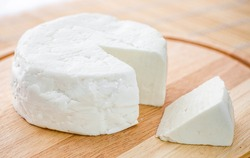 Brazilian traditional white fresh cheese, known as