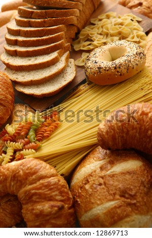 Bread and grain products