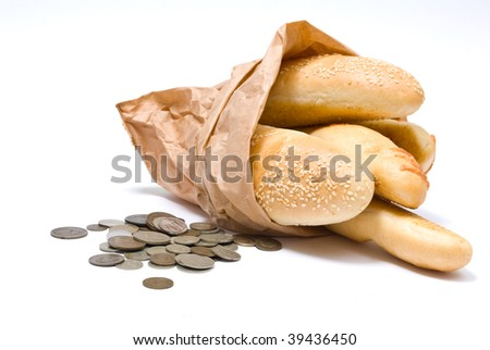 Bread and money