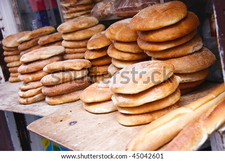 Bread from Moroccan Market