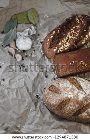 bread, village bread, home bread #1294871380