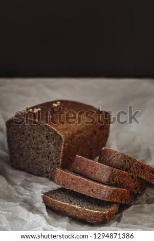 bread, village bread, home bread #1294871386