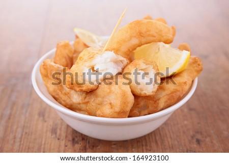 breaded fish fillet