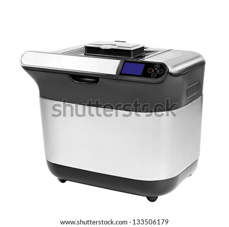 breadmaker on a white background, isolated