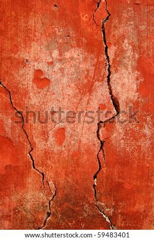 Break cement background