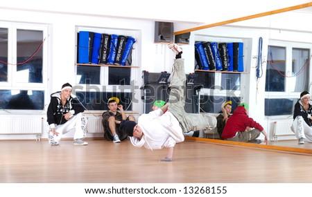 break dancers Stock photo ©