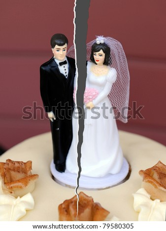 Break up of a married couple