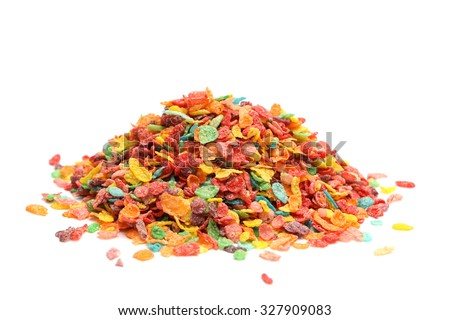Shutterstock Breakfast cereal isolated on a white background