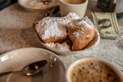 Breakfast in New Orleans (USA)