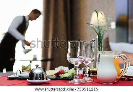 breakfast room service hotel