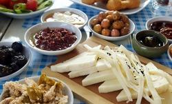 Breakfast - Traditional Turkish breakfast