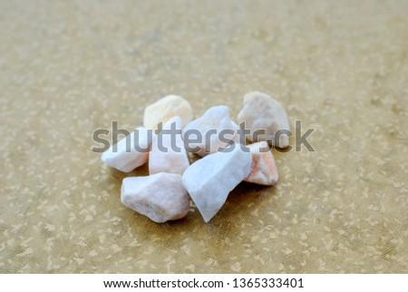 Breakstone, Road gravel ,Crushed stones pictured in studio