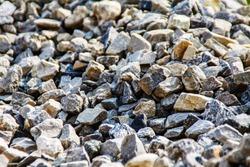 breakstone, road metal, macadam, rubble, crushed stone, broken stone, crushed rock