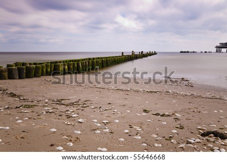 Breakwater, Baltic Sea