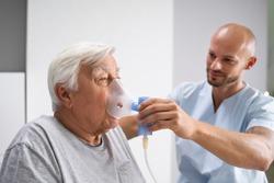 Breath Oxygen Inhaler Safe Senior Medicine Treatment