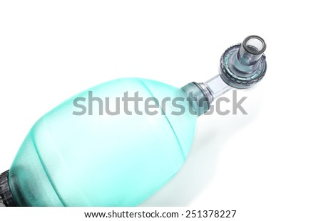 Breathing device isolated on a white background