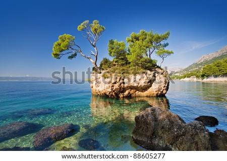 brela  croatia