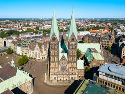 Bremen Cathedral or Bremer Dom is a church dedicated to St. Peter in the market square in Bremen, Germany