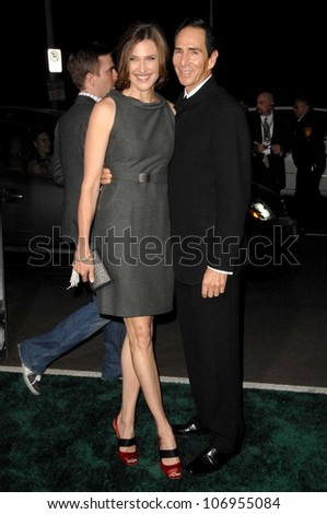 Brenda Strong and husband Tom  at the 18th Annual Environmental Media Awards. The Ebell Theatre, Los Angeles, CA. 11-13-08