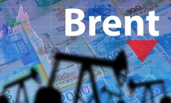 Brent. Lowering the cost of Brent crude oil. Oil rigs on the background of the ruble. Russia. Lower oil prices. Russia's influence on petroleum prices. The increase in production has led to cheaper
