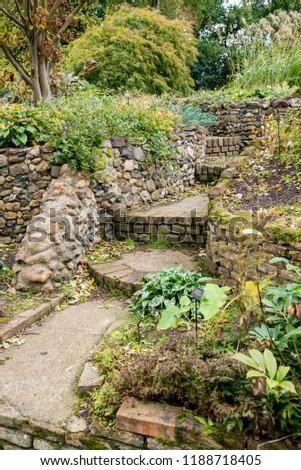 Bressingham Gardens - west of Diss in Norfolk, England - United Kingdom - Photo taken  October 7 2017 #1188718405