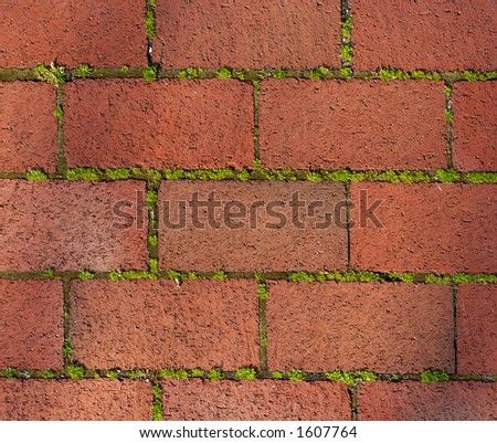 Brick background. Annapolis, Maryland, USA