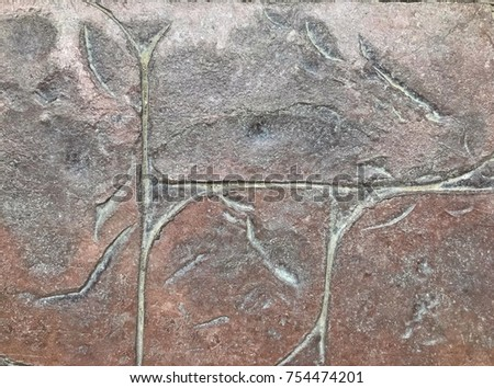brick block walkway surface. #754474201