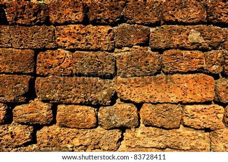 Brick block wallpaper
