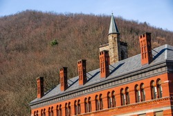 Brick Building in Jim Thorpe, PA