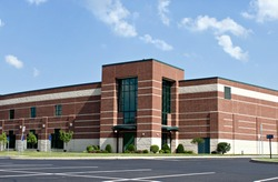 Brick Business Building