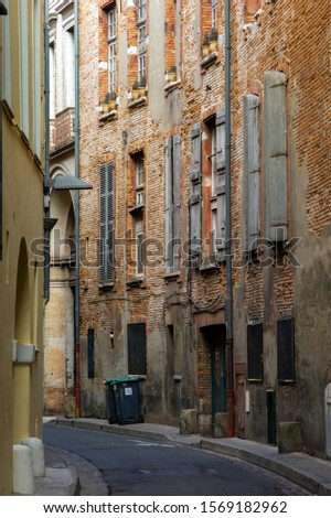 Brick facades of Toulouse, France #1569182962